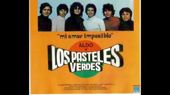 """""""EL LOCO""""/ LOS PASTELES VERDES/ CANTA ALDO GUIBOVICH"""
