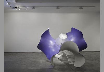 Alice Aycock, Untitled Delight (Wavy Enneper), 2011