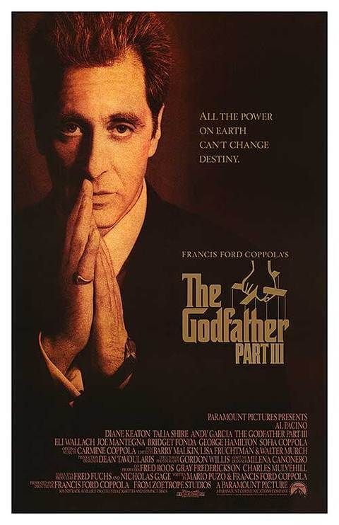 The Godfather Part 3 Poster Movie Posters The Godfather Original Movie Posters