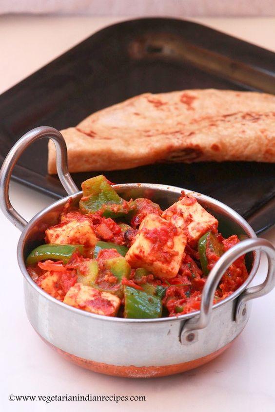 Kadai paneer recipe tasty side dish for chapati roti naan kadai paneer recipe tasty side dish for chapati roti naan indianfood forumfinder Choice Image