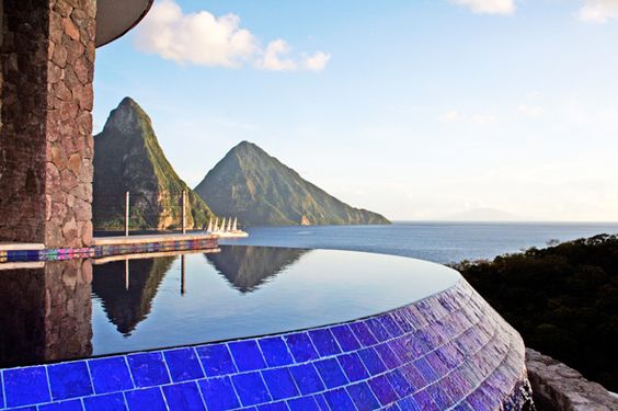 Infinity Pools at Jade Mountain, St. Lucia