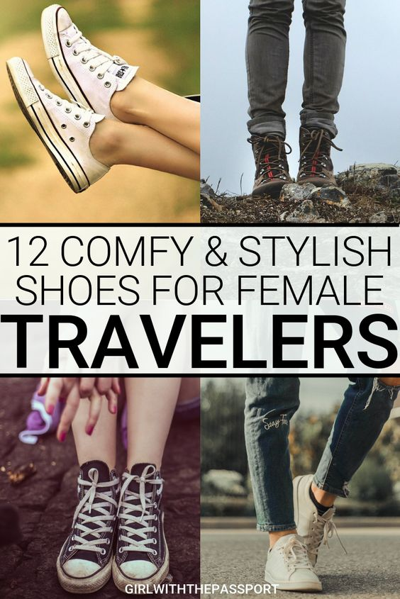 As someone who walks around all day, everyday when I travel, I know how difficult it is to find a pair of stylish walking shoes for travel. That's why I created this expert's guide to 12 of the best, stylish but comfortable walking shoes for travel! From Converse to UGGS to Birkenstocks, see which shoes made the list #travelshoes #walkingshoes #stylishsneakers #travelpacking #travelfashion #traveltips