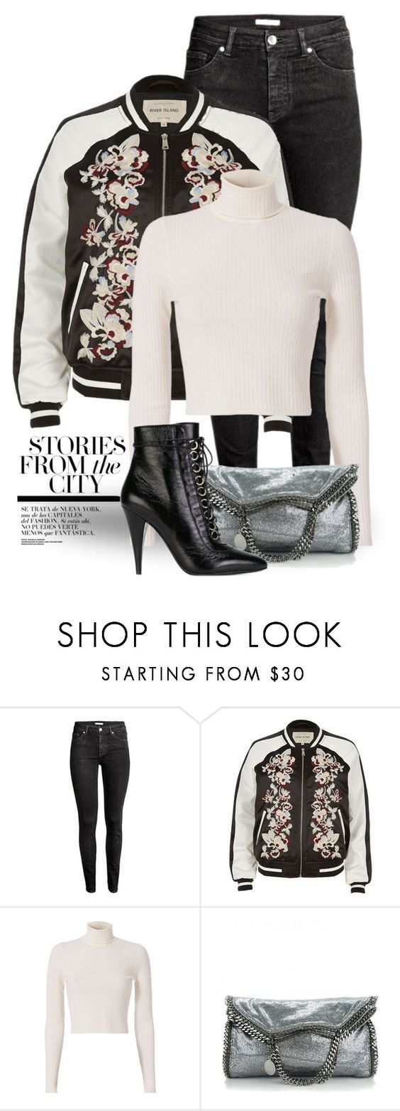 """""""Nov 12th (tfp) 2526"""" by boxthoughts ❤ liked on Polyvore featuring H&M, River Island, A.L.C., STELLA McCARTNEY, Yves Saint Laurent and tfp"""