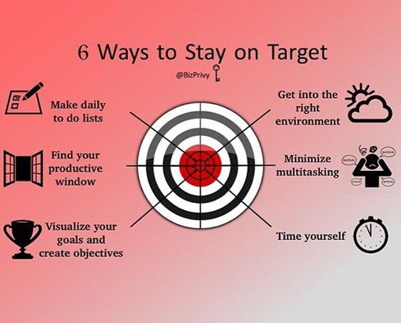 6 ways to stay on target.... Double tap if you agree Credit to @bizprivy  #luxury #luxlife #likes4likes #letsbesuccessful #money #moneyteam #t #themoneyteam #millionaire #millionaires #millionairesclub #millionaireshood #millionairemindset #billionaire #billionaires #billionairemag #billionaireboys #billionairemindset #billionairementality #billionairemovement #billionaireminds #billionairehood  Tag a friend to be motivated