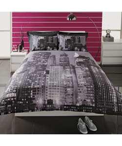 Living New York Skyline Duvet Cover Set Bf Asda Http
