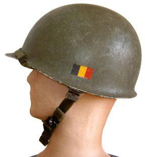 BELGA Casco belga Mº 1951 OTAN