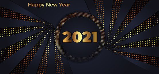 Luxury Black And Golden Happy New Year 2021 Background In 2020 New Year Typography Gold Holiday Cards Happy Birthday Greeting Card