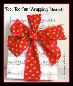 Too, Too Fun Wrappin