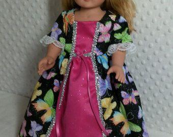 American Girl Puppe 1830 Ära Kleid mit von LilyKayDollClothes