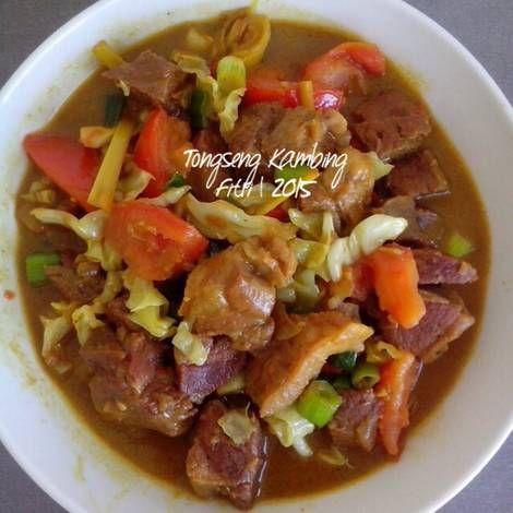 Resep Tongseng Kambing Oleh Fitri Sasmaya Resep Resep Resep Masakan Resep Masakan Asia