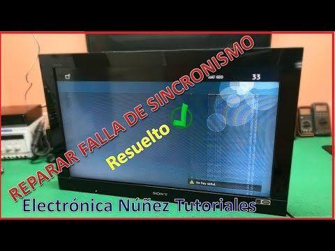 Falla De Rayas Y Lineas Verticales Sony Bravía Imágen Doble Video 1 Electronica Nuñez Youtube Pantalla Sony Sony Led Televisión Led