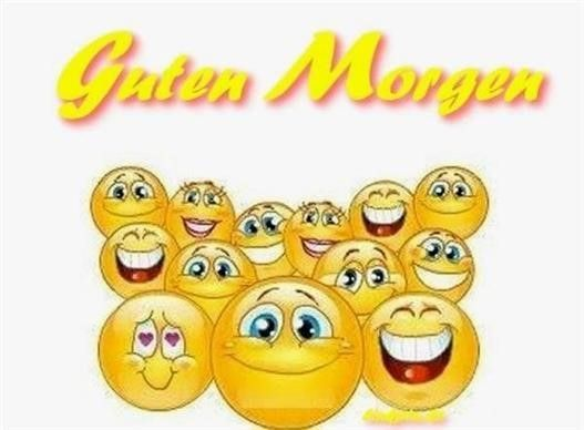 Morgen kostenlos guten smilies Smiley guten