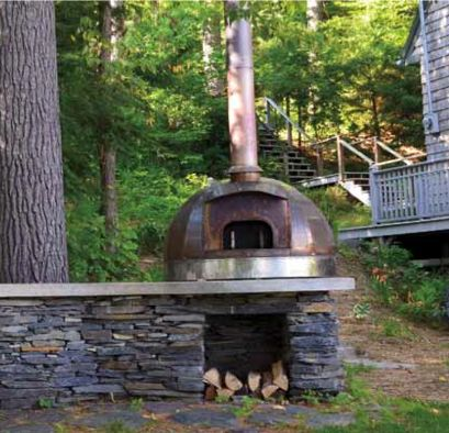 """Build a Wood-Fired Oven in Your Backyard. In this book excerpt (""""From the Wood-Fired Oven"""" by Richard Miscovich) you'll find a few general masonry design recommendations to get you thinking about how to turn your dream wood-fired oven into a reality.: Backyard Projects, Outdoor Oven, Dream Building, Wood Fired Oven, Backyard Chelsea, Pizza Ovens"""