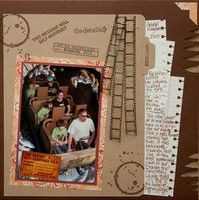 A Project by MommyofTriplets from our Scrapbooking Gallery originally submitted 01/06/12 at 02:19 PM