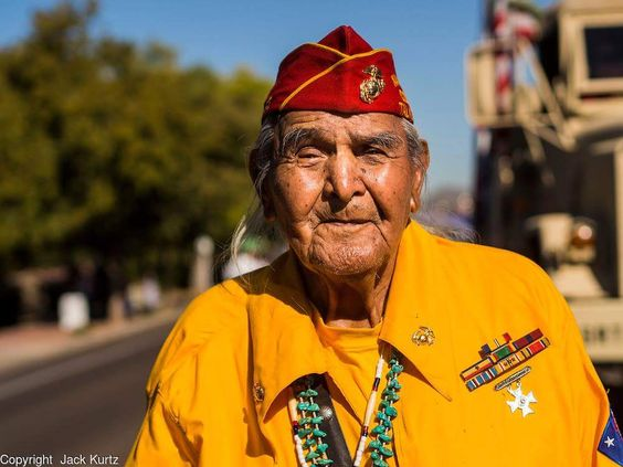 Honor the Fallen  Yesterday one of the last remaining Navajo Code Talkers passed away at 95 years old. https://t.co/BTAieYmHl9 #Marines