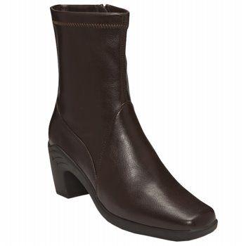 A2 by Aerosoles Sawhorse Boots (Dk Brown Pu) - Women's Boots - 7.0 M