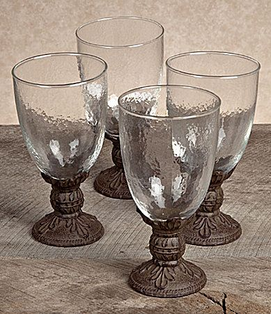 GG Collection 16oz Water Goblet Set #Dillards