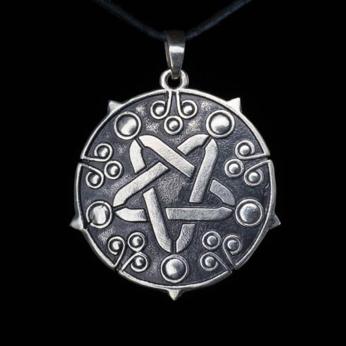 Yennefer-Medallion-Pendant-Witcher-white-bronze-handmade-Yennefer-Amulet