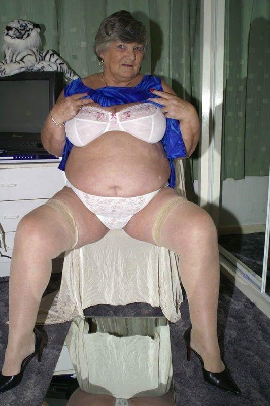 In bra granny Brazil Granny