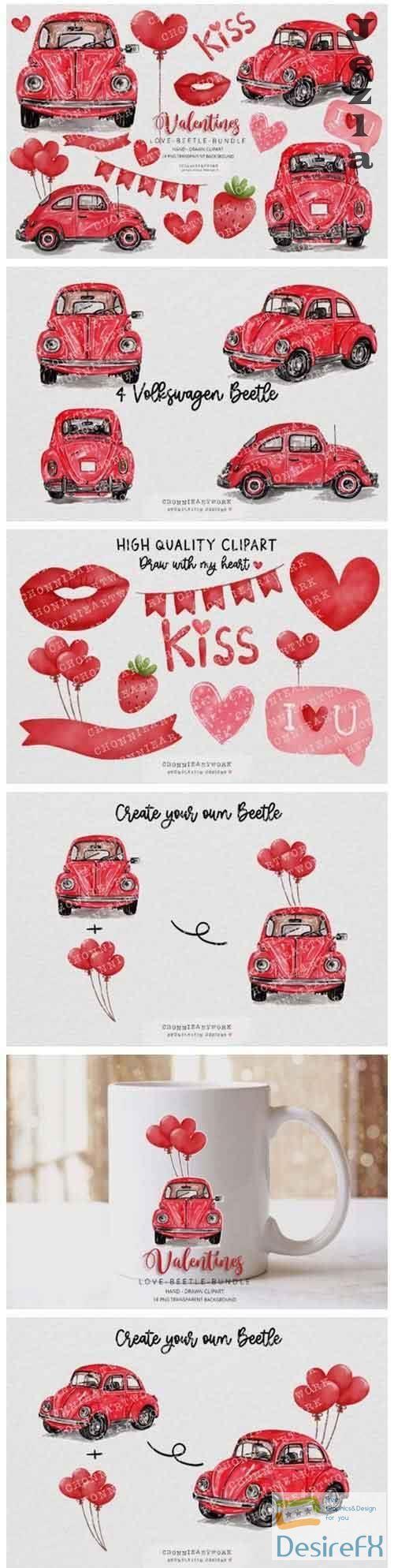 Download Valentine S Day Clipart Bundle Desirefx Com Valentines Day Clipart Clip Art Download Valentines