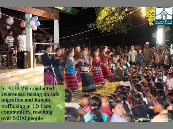 In 2013 VFI conducted 19 awareness-raising workshops on human trafficking, reaching 5000 people!
