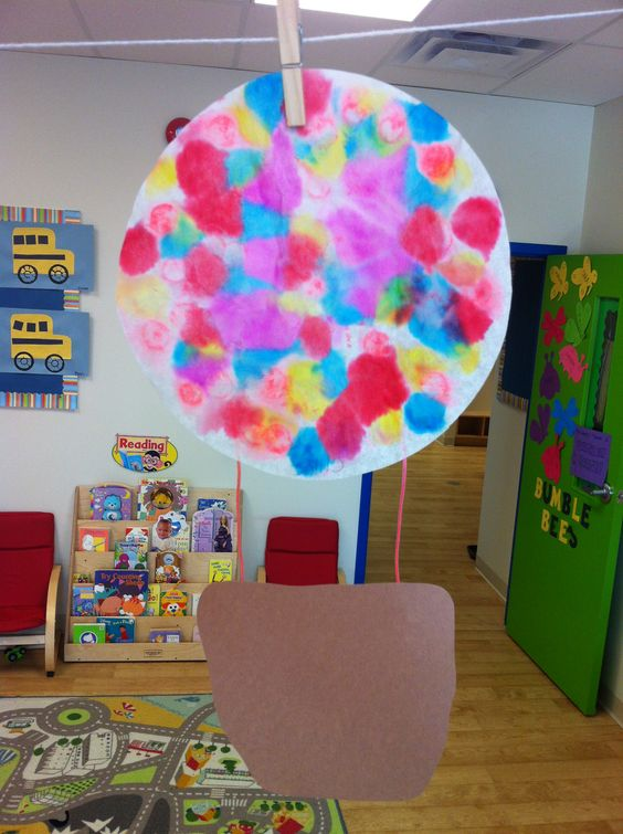 preschool hot air balloon arts and crafts pinterest
