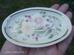 Exclusív Zsolnay gyűrűs tálka,tányér.1 Ft.!! - 1 Ft