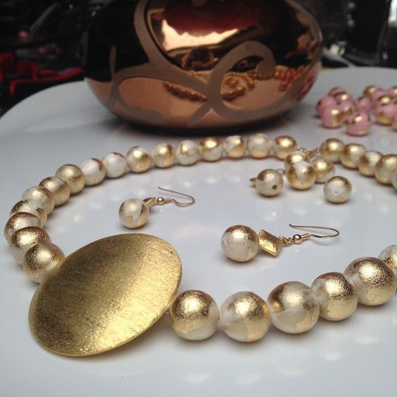 Wedding Jewelry Collection. Emma S. handmade jewelry made in france in Lyon.