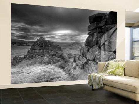 Hadrians Wall, Northumberland, UK Wall Mural � Large by Alan Copson - AllPosters.ca