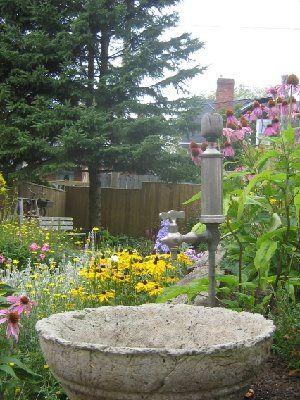 .: Stone Bowl, Garden Ideas Tips Structures, Garden Hypertufa, Garden Porn, Faucet Bowl, Garden Art, Faucet Hypertufa, Garden Landscaping