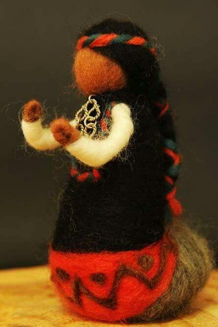 Mujer mapuche Chile