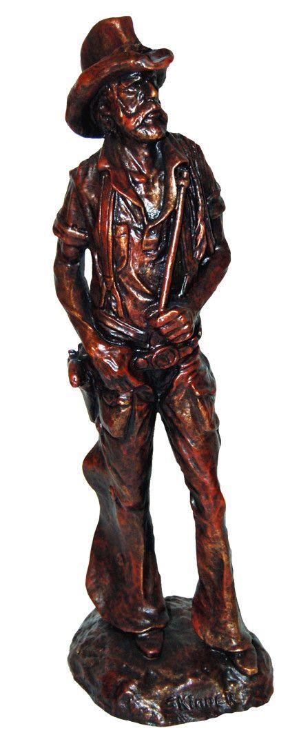 Old West Cowboy Figurine