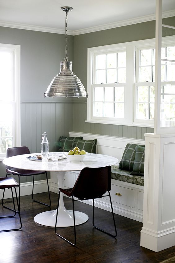 The perfect kitchen nook H2 Design Build DINING ROOMS