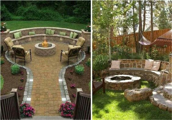 2nd picture is  perfect for my yard.