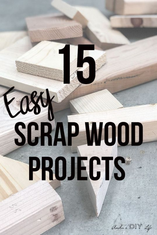 Love These Easy Scrap Wood Projects And Ideas So Many Great