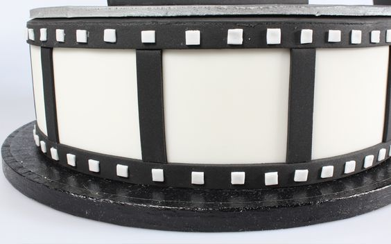 How To Make a Deluxe Film Reel Movie Cake | Cake Decorating Tutorial