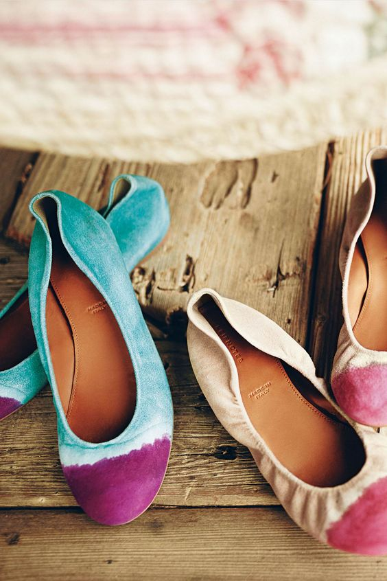 These are really cute! Handpainted Taika Flats @Anthropologie .