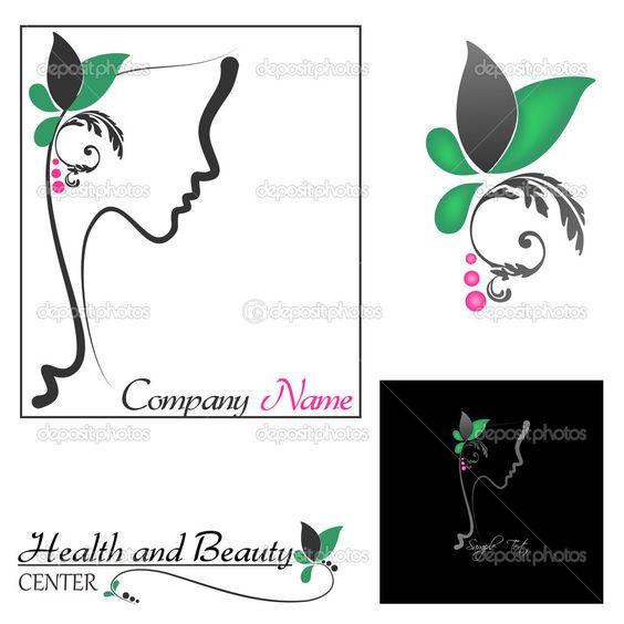 Perfil perfecto de una mujer con flores - Ilustración de stock: 23049692