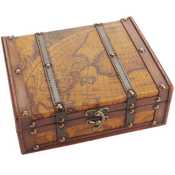 World Map Jewelry Box - Pier1 US