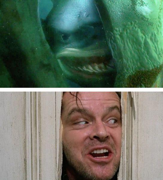 'Buscando a Nemo' - 'El Resplandor'