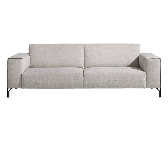 Das Prizzi Ist Ein Echtes Design Sofa Aus Der Xooon Kollektion Dieses 3 Sitzer Sofa Bietet Einen Hochwertigen Sitzkomfort Mit Taschen Interieur Huiskamer Bank