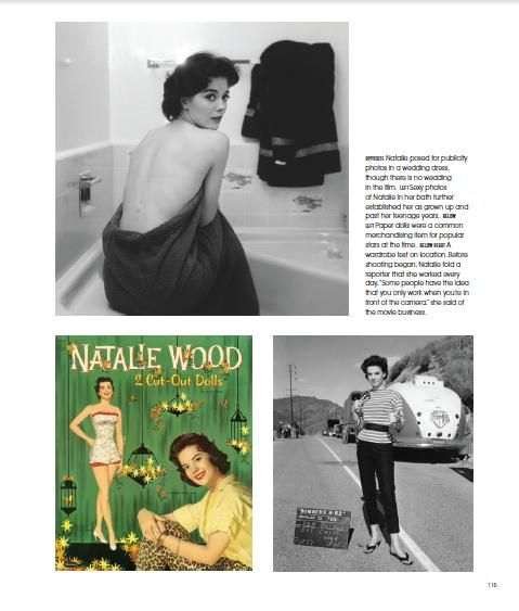 """Continuing the countdown for the new Natalie Wood book that is due to be published in SEVEN weeks! """"Natalie Wood: Reflections on a Legendary Life"""" is available from 11th October 2016. Here is a sneak peak: this is the """"Bombers B-52 page from the actual book. My Natalie obsession continues to build with anticipation for the ultimate book for her fans and her legacy. Enjoy! xx"""