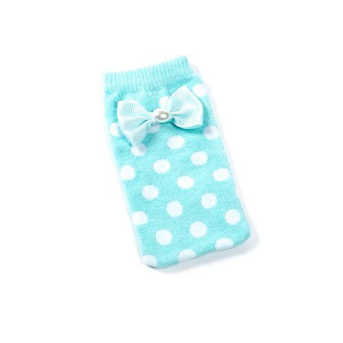 Pearl Bow Phone Sock