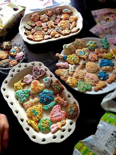 みんなで楽しく!(*^_^*) - 56件のもぐもぐ - アイシングクッキー★ by のん