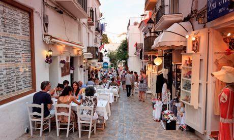 Ibiza, Old town