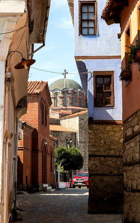 The Town of Edessa, Pella Region, Central Macedonia, Greece