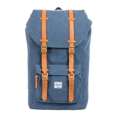 Herschel Little America Canvas Washed Navy rugzak
