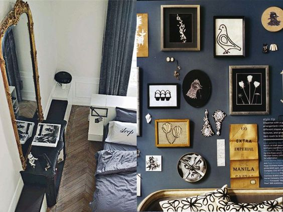 navy and gold interior design6