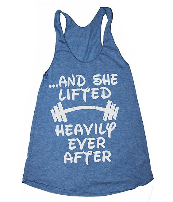and she lifted happily ever after womens gym by SheSquatsClothing