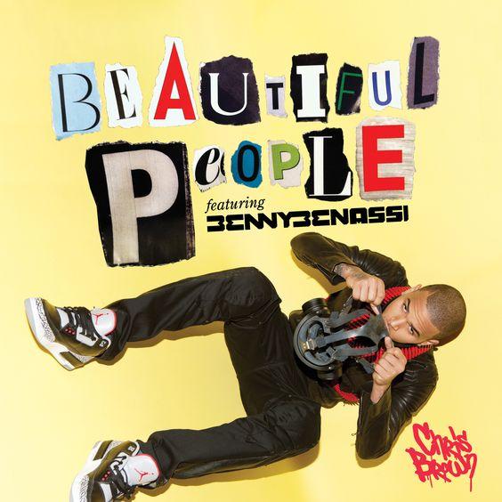 Chris Brown, Benny Benassi – Beautiful People (single cover art)